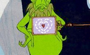 grinch heart small